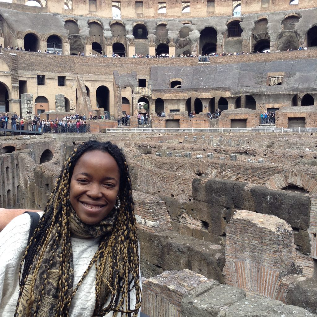 black woman in Italy, black backpackers,