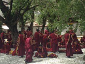 Famous monk's debate, Sera Monastry