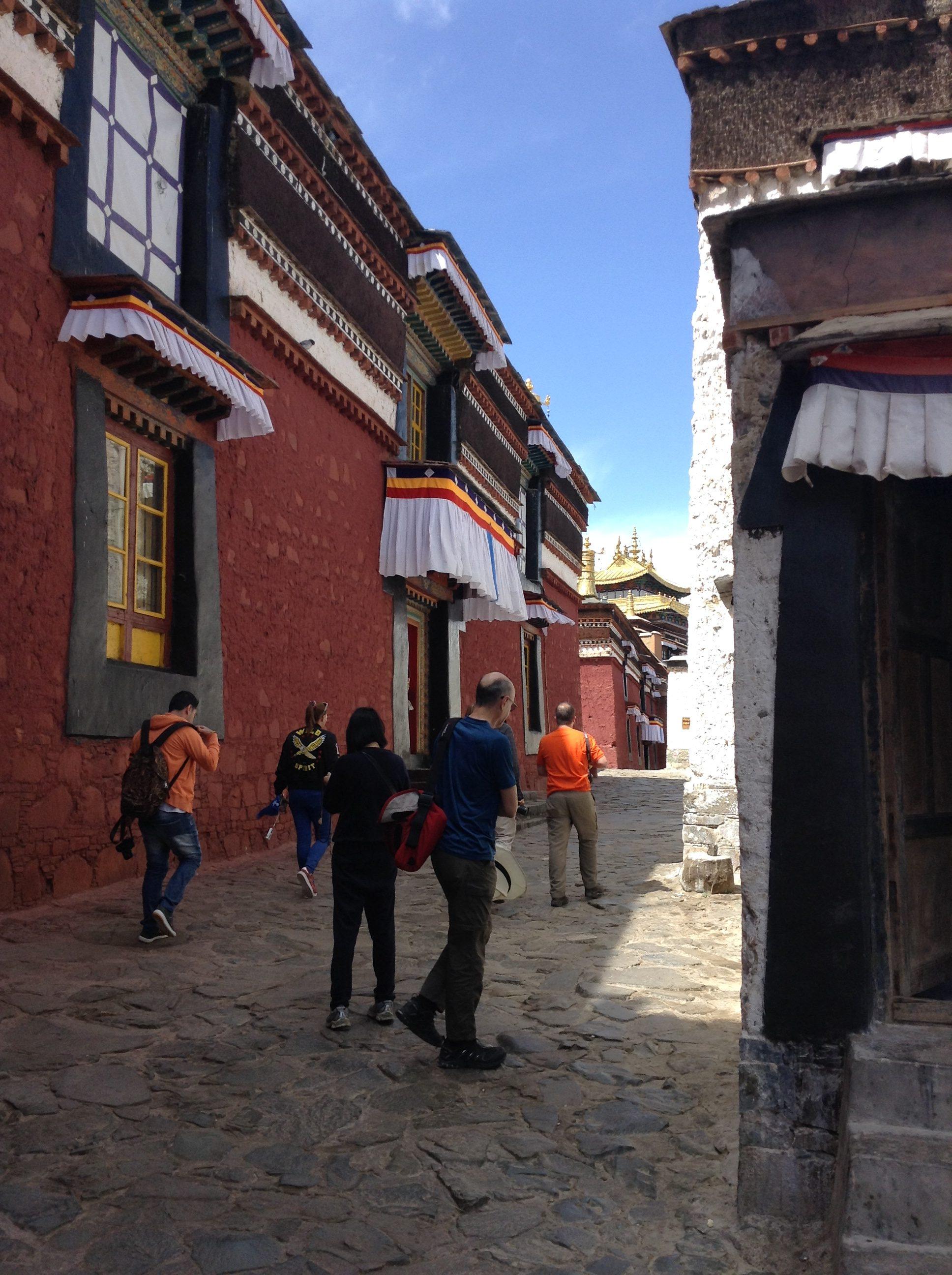 Tibet has many beautiful temples