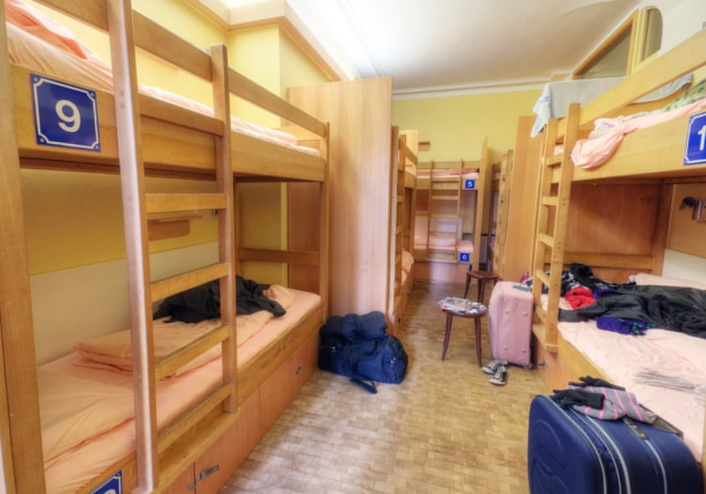 Youth Hostel Dorm Room