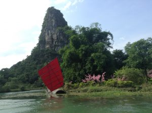 Guilin karst mountain