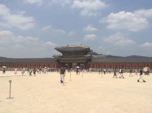South Korea, Seoul, palace,