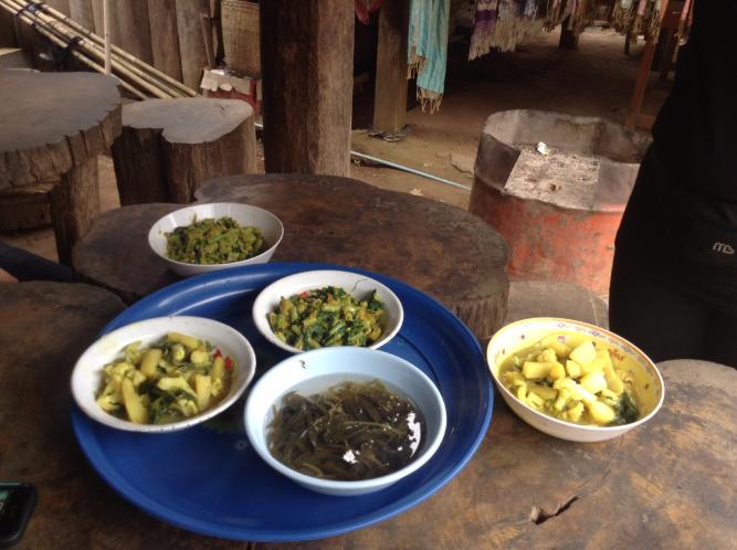 long neck people, Burmese curry, Burmese food
