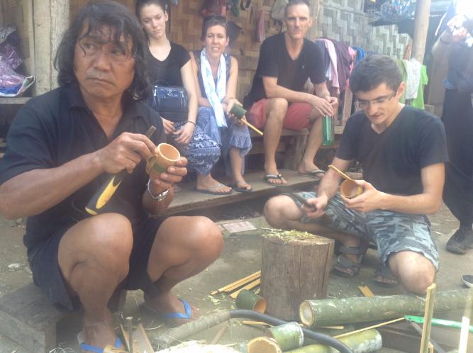 long neck people, long neck tribe, kayan village chief