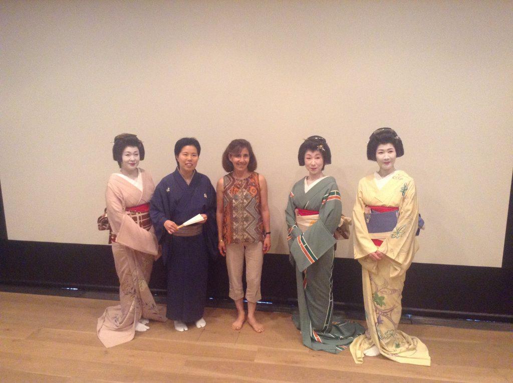 Geisha show Tokyo Japan