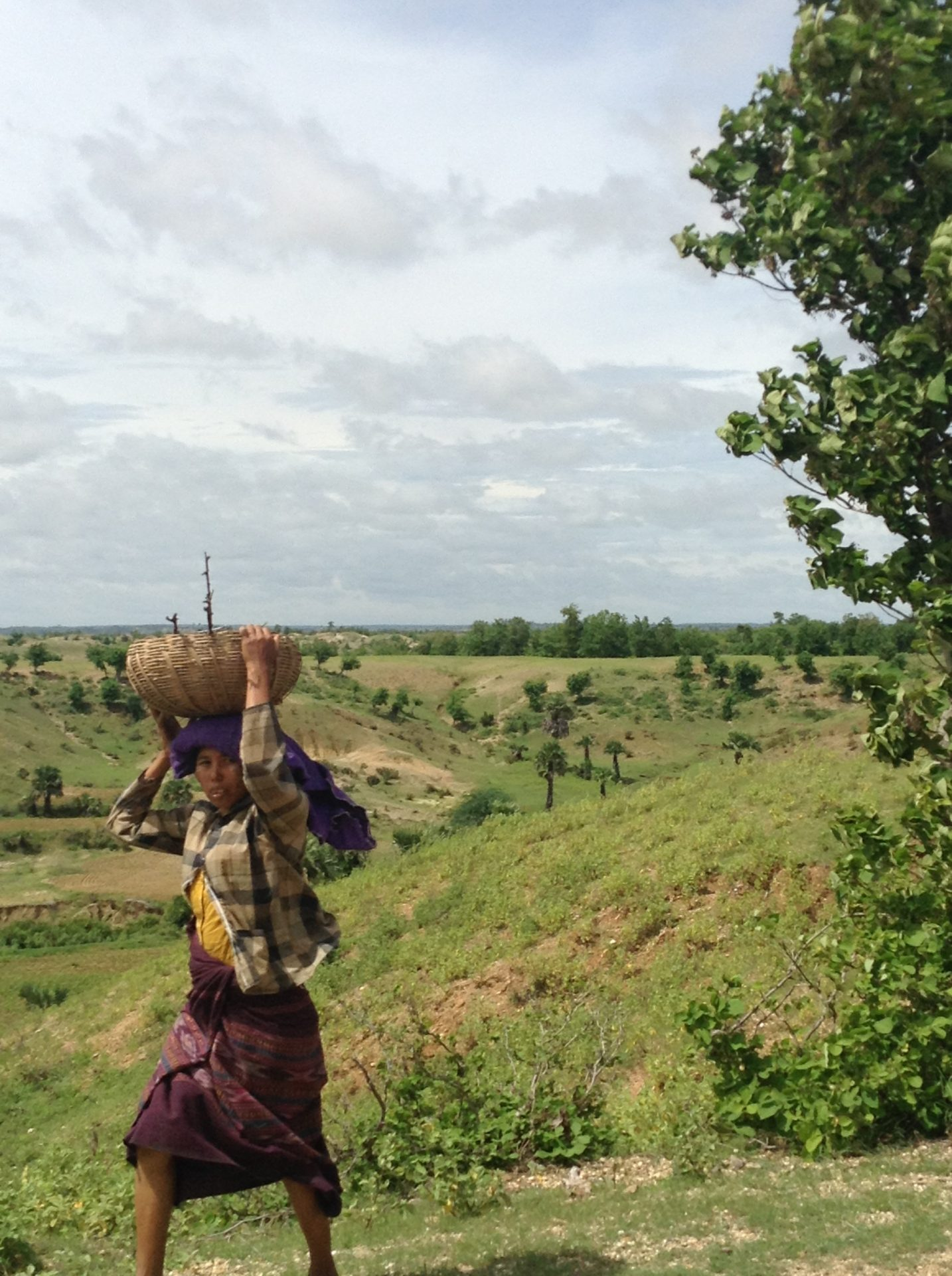 Myanmar, villager