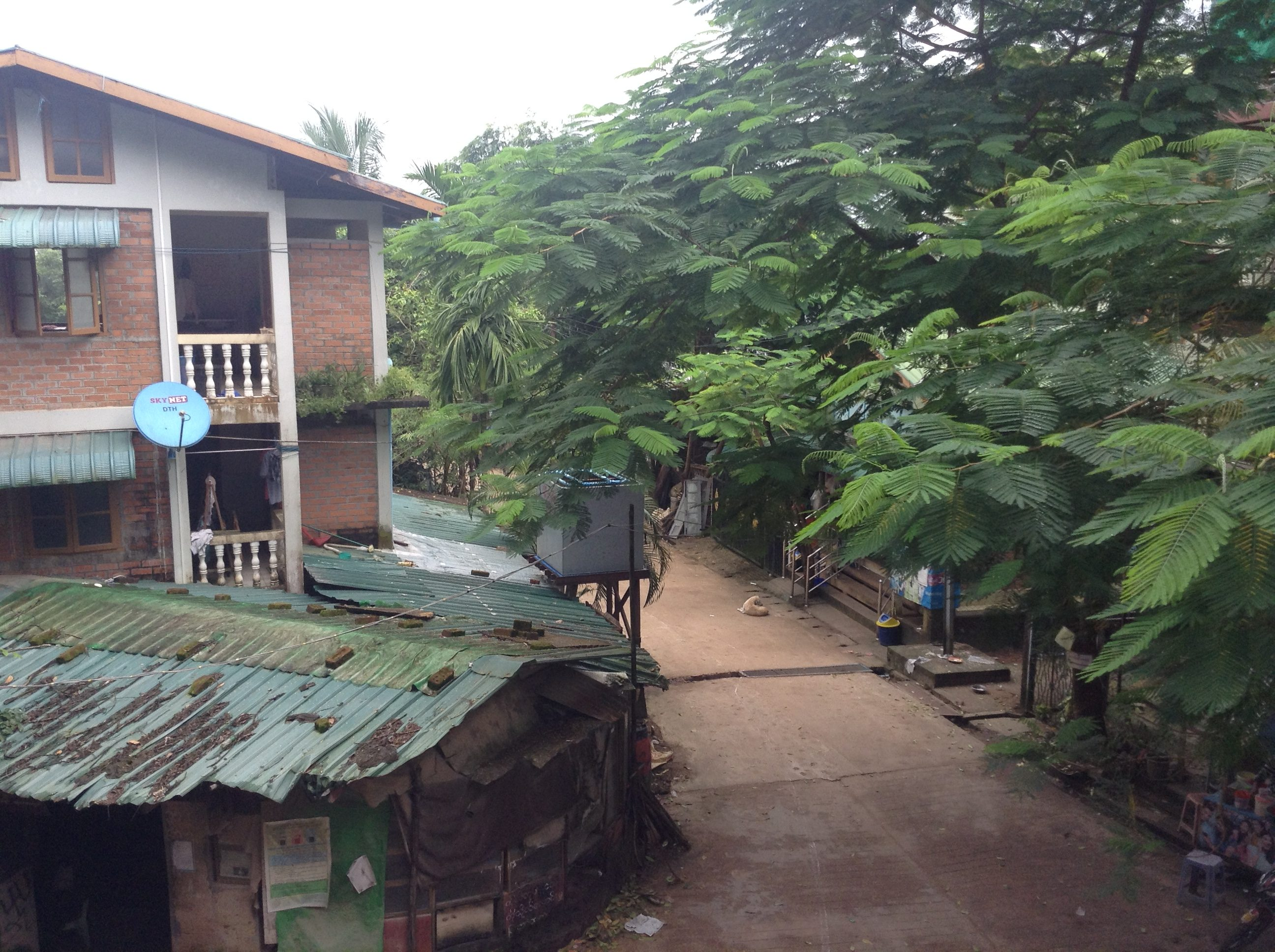 Myanmar, ThaBaWa Centre accommodation