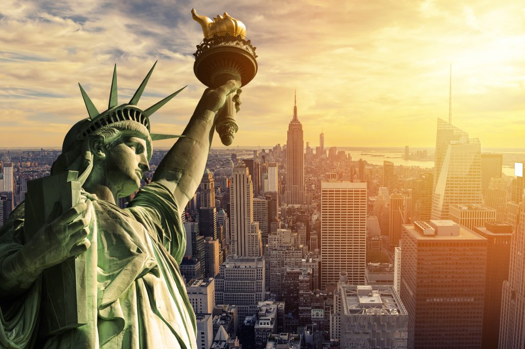 america, statue of liberty, US, how to plan a solo backpacking trip, how to plan a first trip abroad, first time backpacking tips