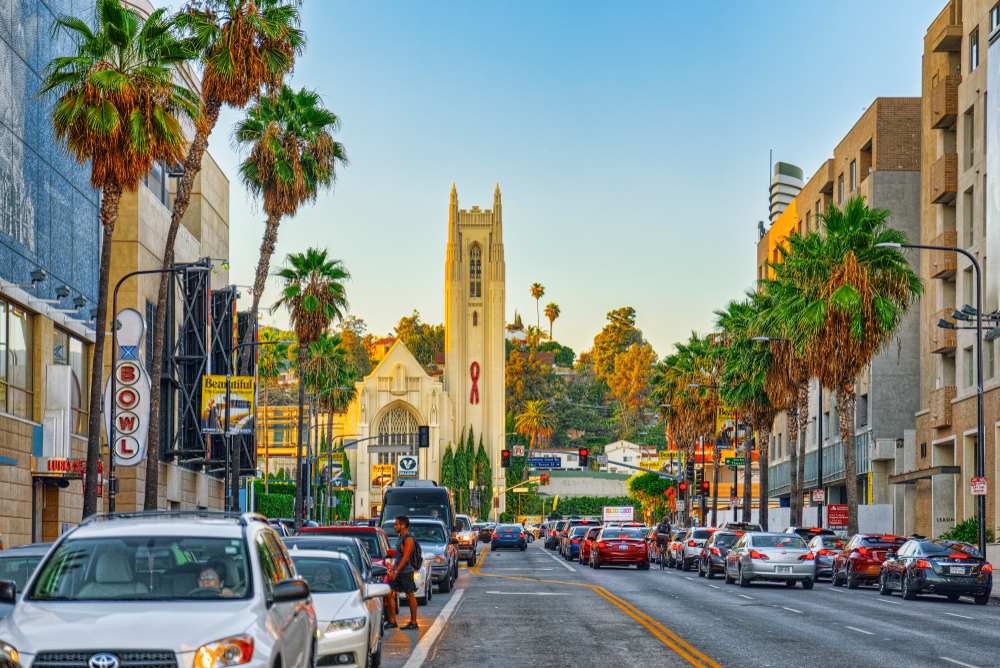los angeles, west coast holiday itinerary,