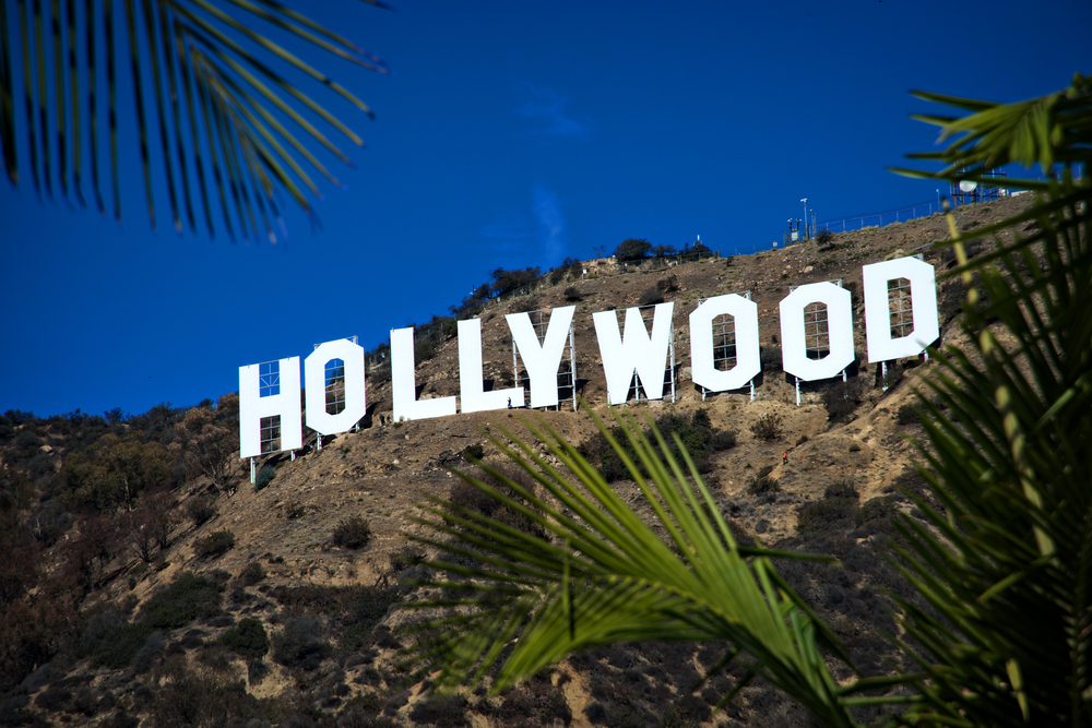 hollywood sign, west coast holiday itinerary