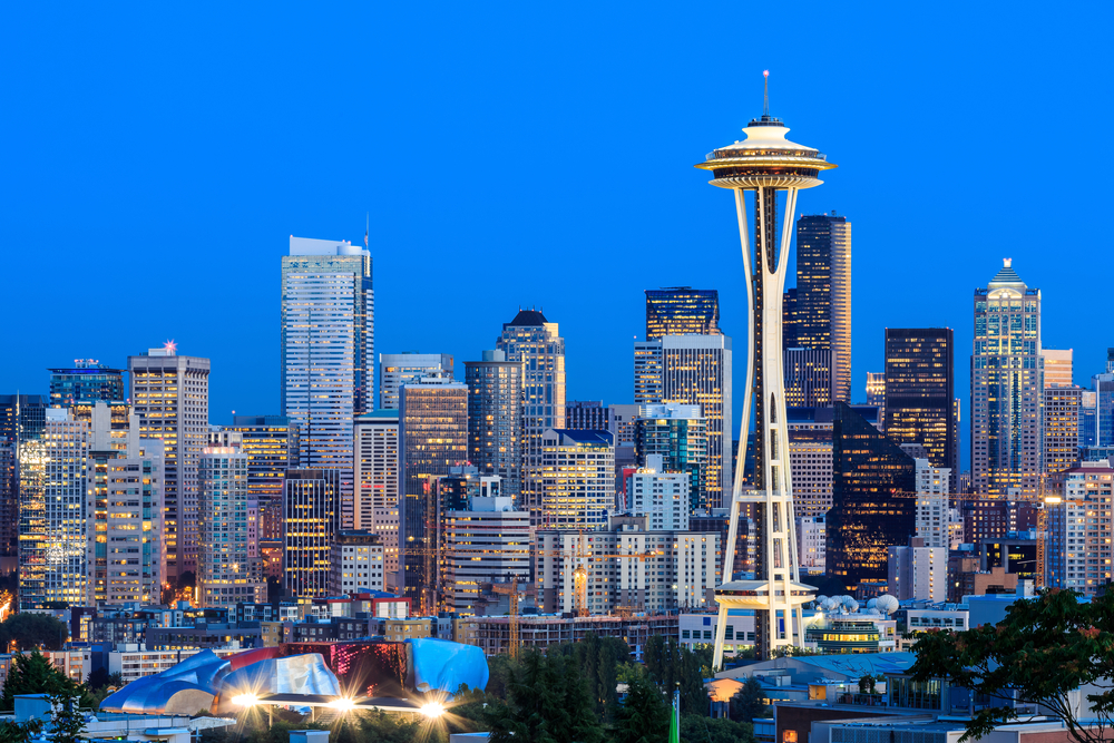 seattle washington, west coast holiday itinerary