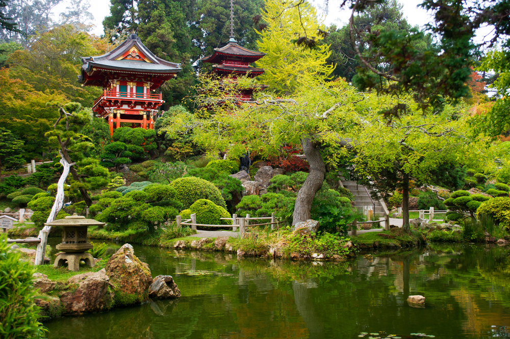 japanese tea garden, west coast holiday itinerary, west coast usa holiday itinerary,