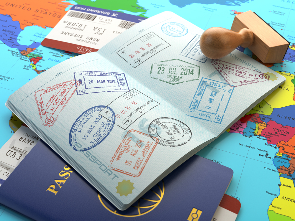 visa stamps, first time backpacking tips