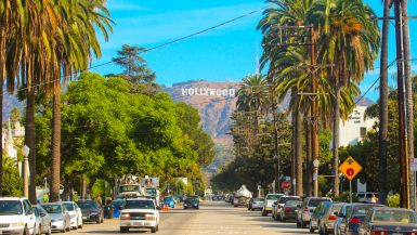 hollywood, west coast holiday itinerary