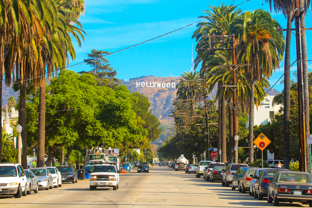 hollywood, west coast holiday itinerary