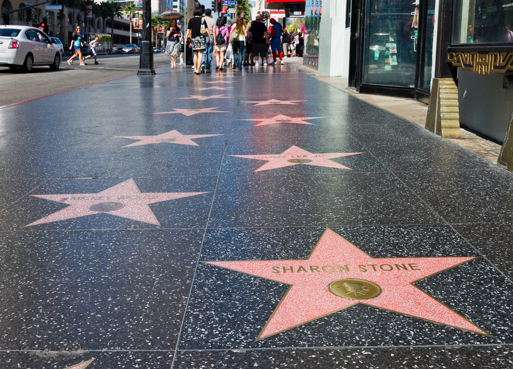 hollywood walk of fame, west coast holiday itinerary, los angeles