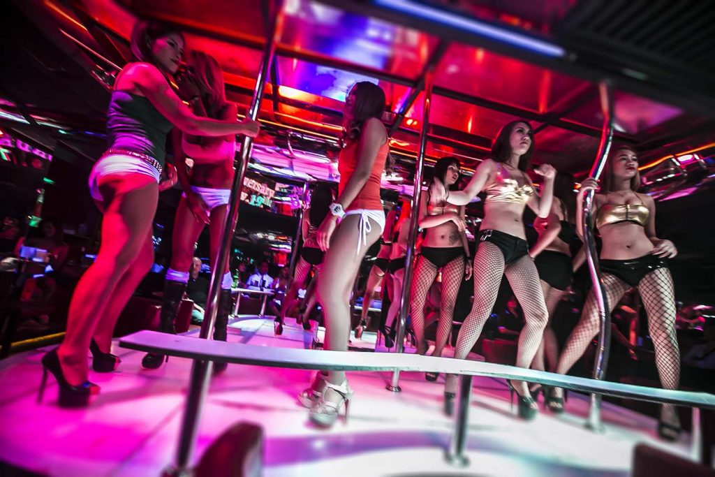 Patpong pole dance