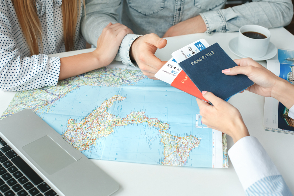 flight tickets, how to plan a first trip abroad