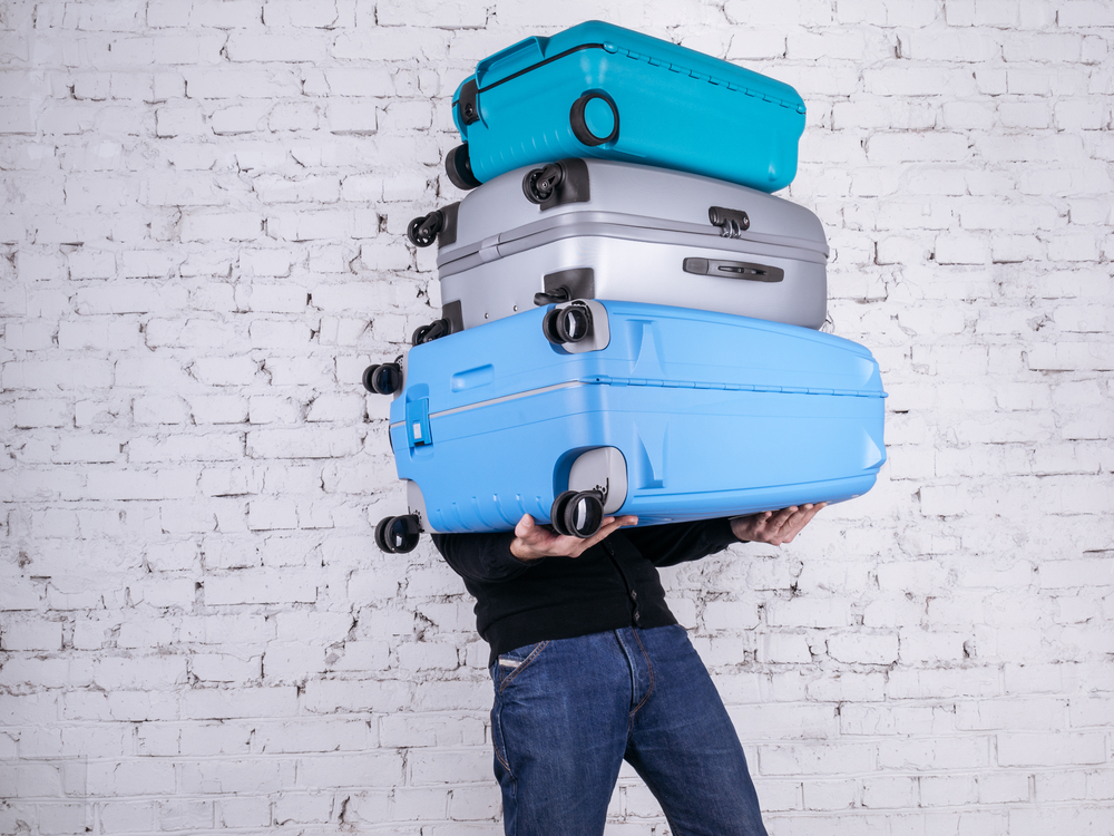 excess baggage, how to plan a first trip abroad