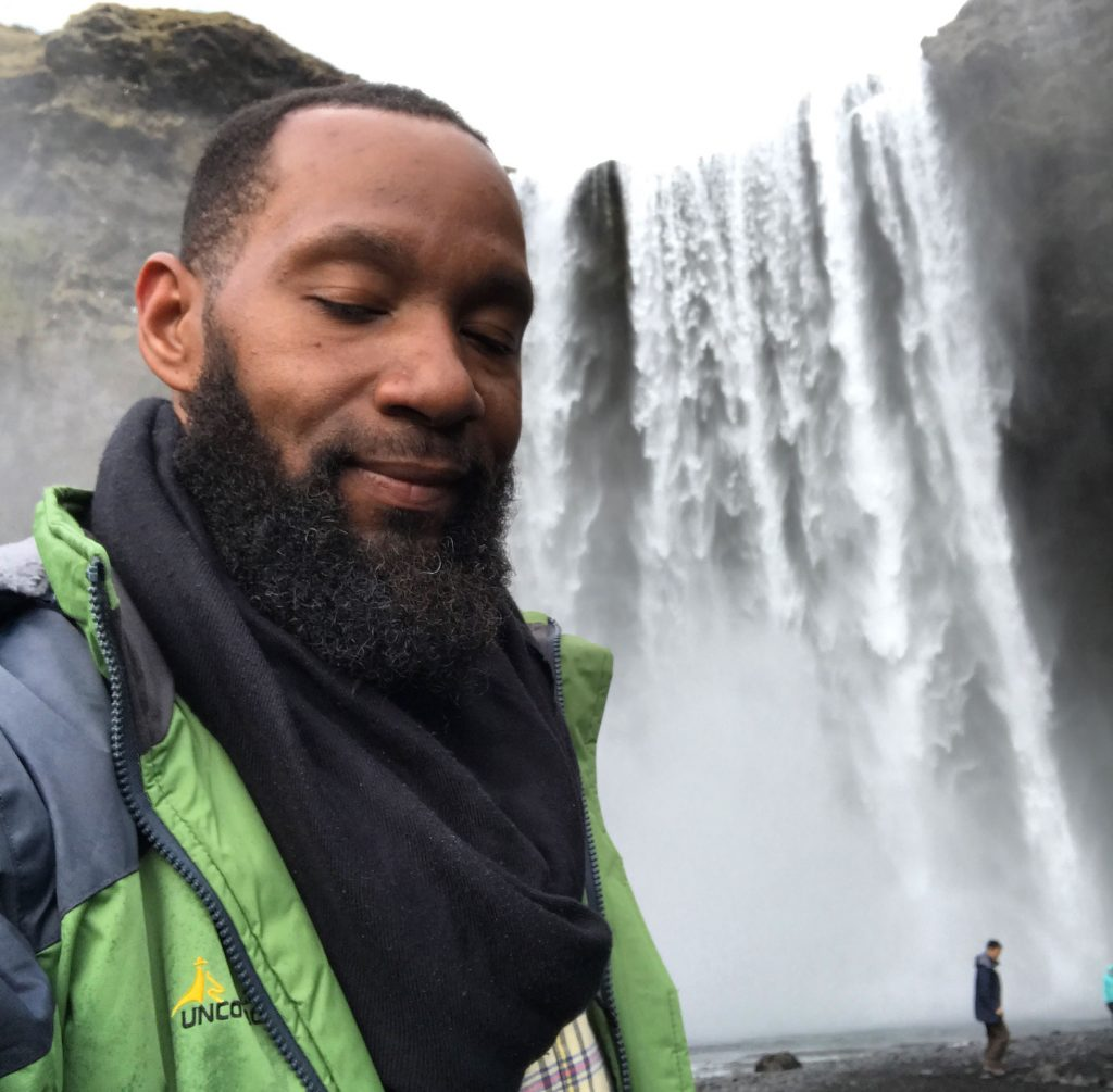 Derek Johnson, black traveler, black traveller, black backpacker