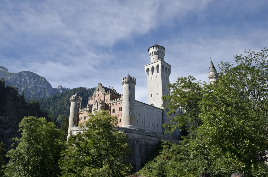 Neuschwanstein Castle, germany, solo female traveller