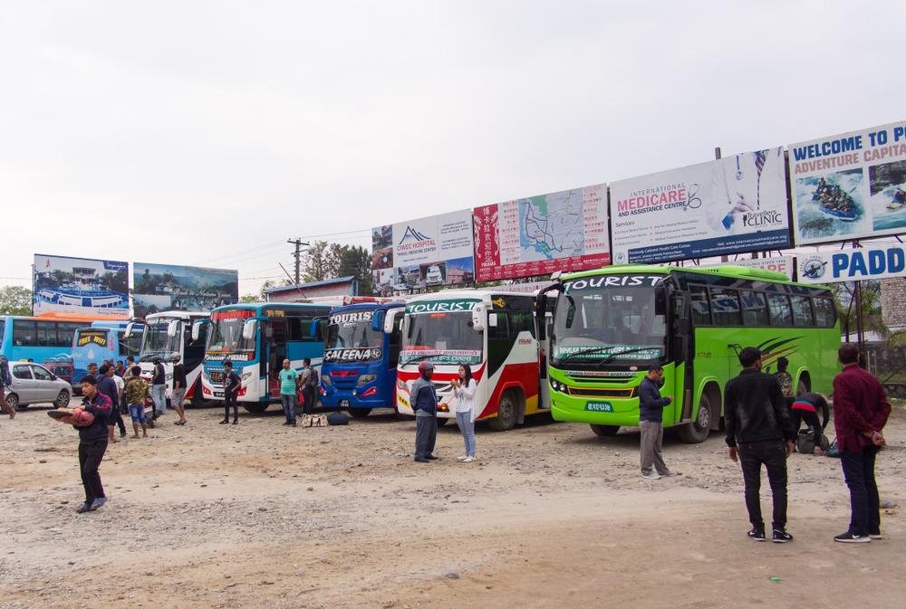 nepal, nepal bus