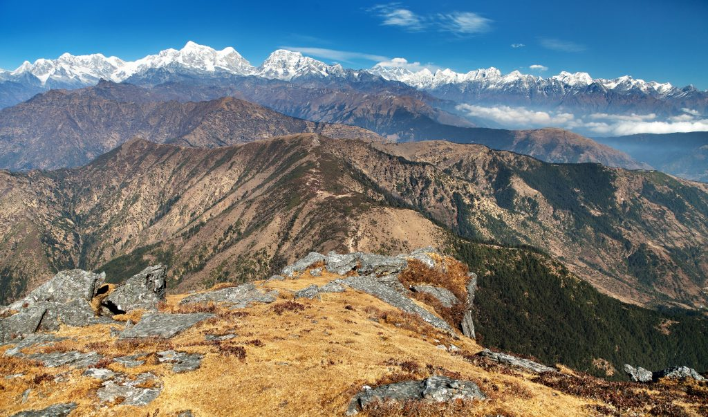 short treks in nepal, Pikey Peak Trek