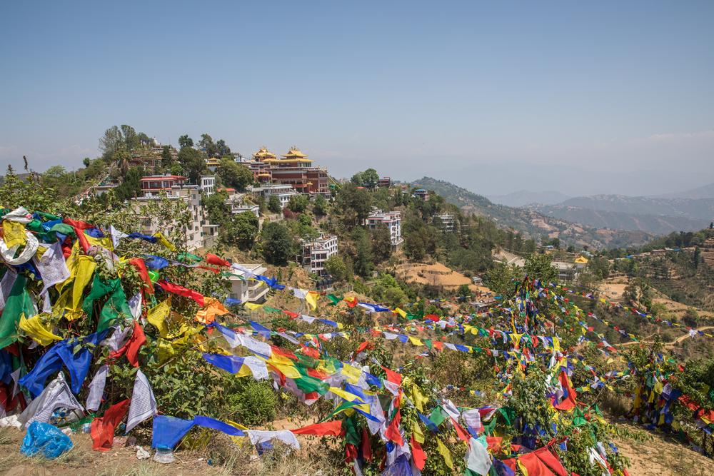 day hikes in kathmandu, namobuddha
