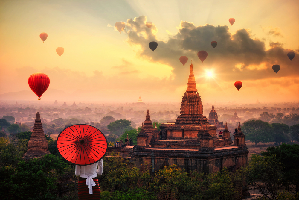 burma famous places, myanmar best places to visit
